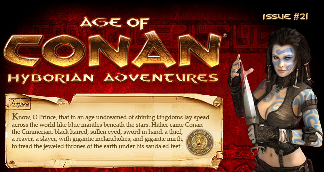 Clan of Conan - Issue #21. Visit the Official Site