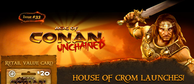 Age of Conan: Unchained - House of Crom launches!