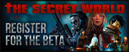 Register for The Secret World Beta