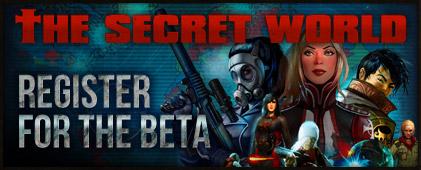 Register for The Secret World Beta